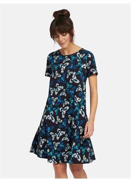 Расклешенное платье из джерси
