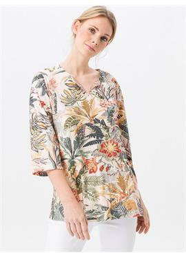 Splitneck-Shirt