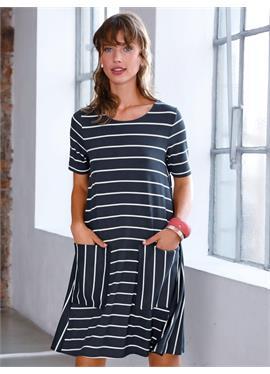 Платье из джерси с 1/2 рукава