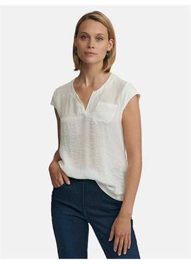Блузка-рубашка с приспущенным плечом