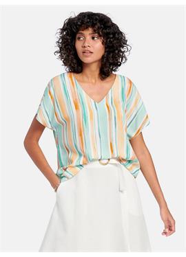 Блузка с цельнокроеными рукавами