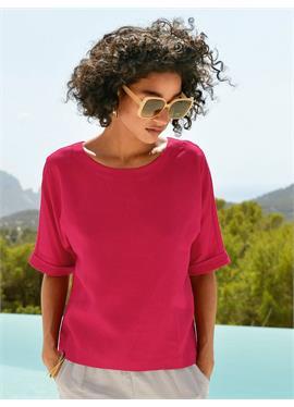 Блузка-рубашка без застежки