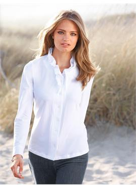Блузка из джерси