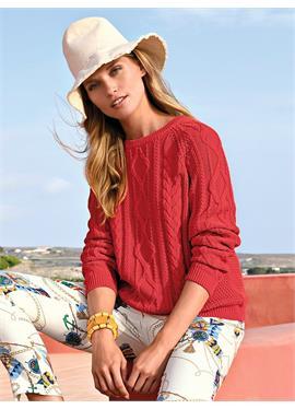 Пуловер aus 100% Baumwolle Premium Pima Cotton