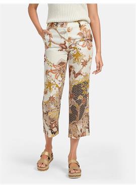 Льняные брюки длиной 7/8 - модель Olessa