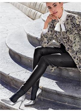 Leder-Leggings aus 100% Leder