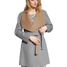 Двустороннее короткое пальто