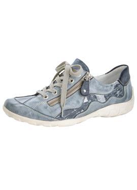 Туфли на шнуровке в модном поношенном образе