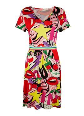 Платье с модным принтом