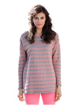 Пуловер im Streifen-Look