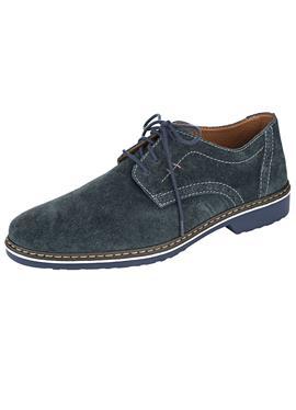 Туфли на шнуровке на модной подошве
