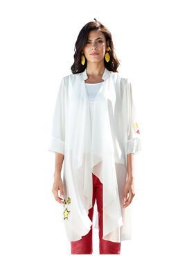 Блузка жакет и топ в открытой форме