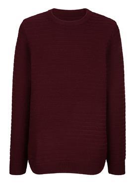 Пуловер с Strickmuster rundum