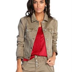 Джинсовая куртка в стиле пиджака